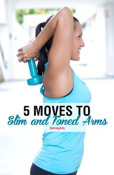 These 5 Moves to Slim and Toned Arms will improve your appearance, increase your strength, and boost your confidence through the roof! Workout For Beginners, Beginner Workouts, Fun Workouts, Best Workout Plan, Weight Loss Workout Plan, Arm Toning Exercises, Lose Thigh Fat, Ripped Body, Strength Training Workouts