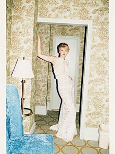8 Decorating Lessons From Jennifer Lawrence // Jennifer Lawrence in W Magazine
