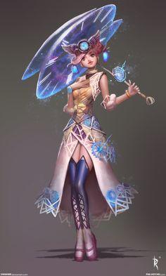 Pamina Character 1 by *Zeronis on deviantART