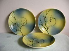 Medicine Hat Potteries Pussy Willow Tableware (1954)