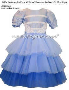 Ombre Flower Girl Dress used for the Nutcracker Party for Clara | Pegeen