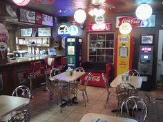 Cammack Station - NW Muncie, IN - a converted gas station into quaint restaurant with loads of memorabilia! I live in Muncie and this is an awesome place to eat.  The burgers and tenderloins and shakes are their specialty.  Give it a try if you are ever in Muncie.