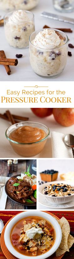 Pressure Cooking Today- A few easy recipes for the electric pressure cooker that are super easy and super delicious. Pressure Cooking Today, Pressure Cooking Recipes, Slow Cooker Recipes, Crockpot Recipes, Cooking Hacks, Best Electric Pressure Cooker, Slow Cooker Pressure Cooker, Instant Pot Pressure Cooker, Pressure Pot