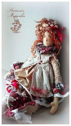 Куклы Натальи Мироновой - 27 Мая 2016 - Кукла Тильда. Всё о Тильде, выкройки, мастер-классы. Handmade Toys, Handmade Art, Monster Dolls, Clay Dolls, Soft Dolls, Doll Crafts, Ball Jointed Dolls, Fabric Dolls, Doll Patterns
