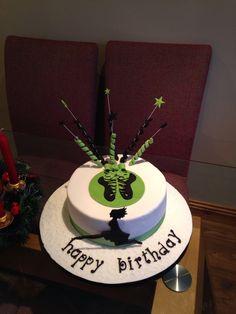 40th birthday cake for an Irish dance teacher
