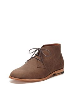 Brushed Leather Chukka Boots by Vanishing Elephant on Gilt.com
