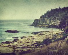 Misting in Maine Fine Art Photography Acadia by KEnzPhotography