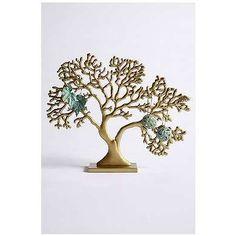 Oak Jewelry Stand