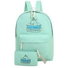 Unicorn Backpacks. Unicorn Pure Solid Color Lightweight Canvas Travel  School Laptop Bags Backpack ... a4ae67375d770