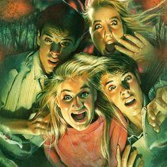 The Outing (1987) by Drew Struzan (detail).