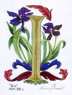 Diane Calvert - Official Homepage - Medieval Illuminations For The 21st Century.