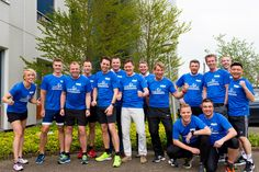 Business Relay Marathon Rotterdam - eG Innovations is proud that this year has sponsored the 20-man / woman strong team of PQR