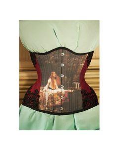Lady of Shalott Corset Historical Art history by RetroFolie