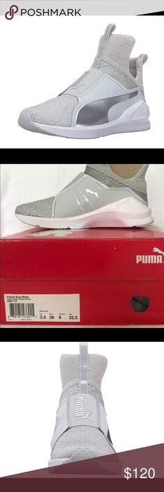 Puma Women Fierce Eng Mesh Cross-Trainer Shoe NEW Brand:PUMA PUMA product line:PUMA Fierce Style:Sneaker Department:Women Material:Mesh Size 6 women Puma Shoes Sneakers