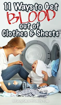 11 Ways to Get Blood out of Clothes & Sheets. We tested several different solutions and found 2 that worked amazingly well. Speed Cleaning, Cleaning Hacks, Blood Stain Removal Clothes, Blood Out Of Clothes, Get Blood Stains Out, Homemade Stain Removers, Old Blood, Work Goals, Saving Tips
