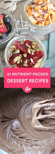 Packed with healthy ingredients like avocados, quinoa, and even spinach, these treats will hit that sweet spot and do your body good. #healthy #dessert #recipes https://greatist.com/health/desserts-unexpected-healthy-ingredients