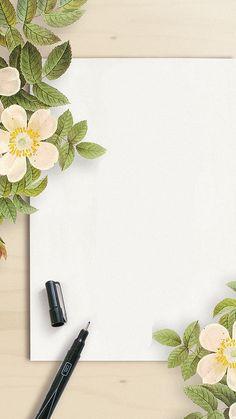 Photo Frame Wallpaper, Beautiful Wallpaper For Phone, Framed Wallpaper, Flower Background Wallpaper, Wallpaper Space, Love Wallpaper, Pretty Wallpapers, Solid Color Backgrounds, Flower Backgrounds