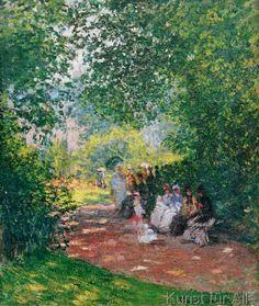 Claude Monet - Au Parc Monceau