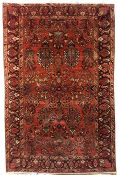 Sarouk Rug, West Persia, early 20th century,  9 ft. 2 in. x 6 ft. | Skinner Auctioneers  Sale 2276