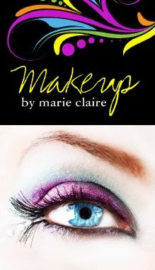 92 best makeup artist business cards images on pinterest makeup makeup artist business card template accmission Image collections