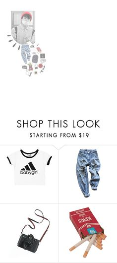 """"""":: *finger hearts* ::"""" by kat-oh-sparrow ❤ liked on Polyvore featuring Levi's, Dr. Martens, Madewell and Old Navy"""