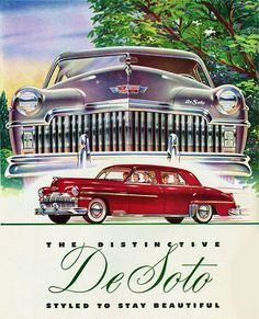 Lots 'O Teeth    1949 De Soto.