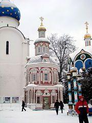 Churches in Sergiev Posad, Russia