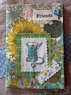Listen To The Birds Sing: Lovely Liberty Notebook Covers, Journal Covers, Fabric Book Covers, Fabric Books, Diary Covers, Needle Book, Needle Case, Fabric Journals, Junk Art