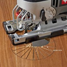 Make Relief Cuts for Sharp Turns - 13 Jigsaw Tips and Essentials http://www.familyhandyman.com/tools/jigsaw-tips-and-essentials