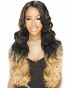 "Freetress Equal Invisible ""L"" Part Synthetic Wig HONOR"