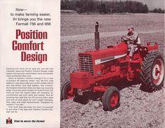IH 756 and 856 Tractors