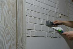 Кирпичная стена в стиле лофт своими руками