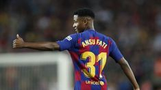 Latest News for Barcelona Reportedly Set To Sign Young Ansu Fati To Firstteam Barcelona Football, Fc Barcelona, One Team, First Love, October 14, Goals, Signs, News, Forget