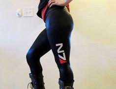 Mallones al estilo Mass Effect N7