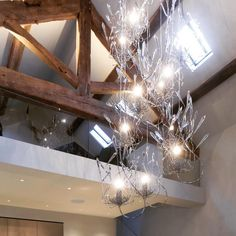 Chandelier, Ceiling Lights, Interiors, Lighting, Projects, Beautiful, Home Decor, Log Projects, Candelabra