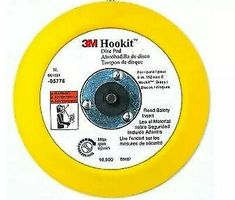 10-Pack PORTER-CABLE 736010810 6-Inch Hook and Loop Extended Performance No Hole 80G Disc