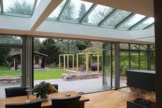 Outdoor Spaces, Outdoor Living, Outdoor Decor, Pergola, Relaxing Places, Patio Bar, Roof Light, House Extensions, Open Plan Living