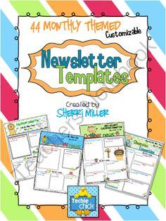 easy newsletter template
