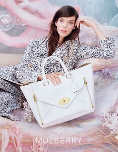 Mulberry SS13 Campaign i love it
