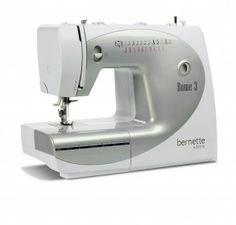 Macchina per cucire Bernina Bernette Rome 3 - Una macchina per cucire semplice e dalle prestazioni notevoli per esigenze elevate e budget limitati. Ideale per le principianti.