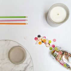 """75 Likes, 5 Comments - INCA // Soy Candles (@inca101) on Instagram: """"Just getting my creative flatlay on today! #INCAcandles  Workshop: @onthedecorativefringe  Venue:…"""""""