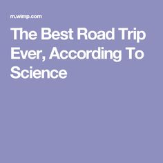 The Best Road Trip Ever, According To Science Best Workout Routine, Science Guy, Build Muscle, Mens Fitness, Fun Workouts, Road Trip, Good Things, Irish Moss, Travel