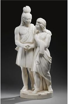 Marriage of Hiawatha-Edmonia Lewis