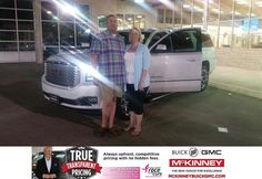 https://flic.kr/p/yxkwLy   Congratulations Steven on your #GMC #Yukon XL from Kevin St. Louis at McKinney Buick GMC!   deliverymaxx.com/DealerReviews.aspx?DealerCode=ZAKC