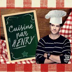 Crazy For Henry Cavill BR: Cuisine par Henry Cavill (Cozinha por Henry Cavill)