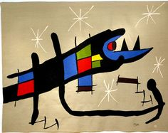 night creature. joan miró. my favorite artist.