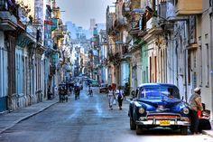 street scene near malecon in havanna, cuba by blender16, via Flickr