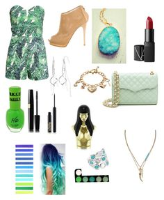 """#cobishorts"" by manonvantwembeke on Polyvore featuring mode, H&M, Giuseppe Zanotti, Juicy Couture, Mudd, NARS Cosmetics, Helix & Felix, Banana Republic, Ippolita et Nicki Minaj"