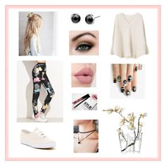 """Outfit"" by pattynavarro on Polyvore featuring MANGO, Keds, iittala, alfa.K and Kylie Cosmetics"