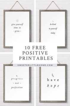 Free positive wall printables Multiple sizes included Free positive wall printables Multiple sizes included Emily Rodriguez Emily Rodriguez 10 free positive printables These black and white free printables have a variety hellip Cheap Wall Art, Diy Wall Art, Framed Wall Art, Wall Art Prints, Cheap Wall Decor, Bathroom Wall Art, Framed Quotes, Wall Art Quotes, Quotes For Bedroom Wall